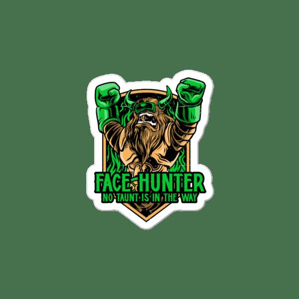 """Face Hunter Sticker - 3""""x3"""""""