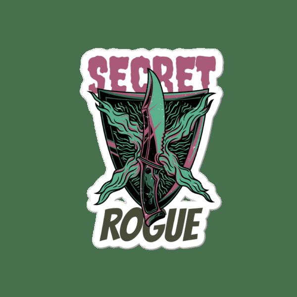 """Secret Rogue Sticker 4""""x4"""""""