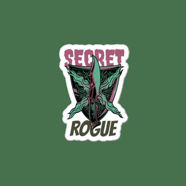 """Secret Rogue Sticker 3""""x3"""""""
