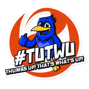 "TUTWU Community Bird Sticker - 5.5""x5.5"""