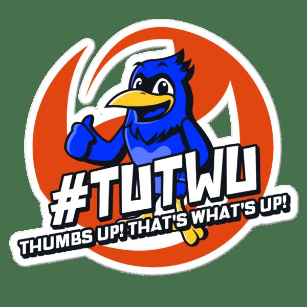 "TUTWU Community Bird Sticker - 5.5""x5.5"""
