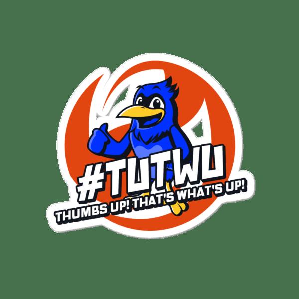 "TUTWU Community Bird Sticker - 4""x4"""